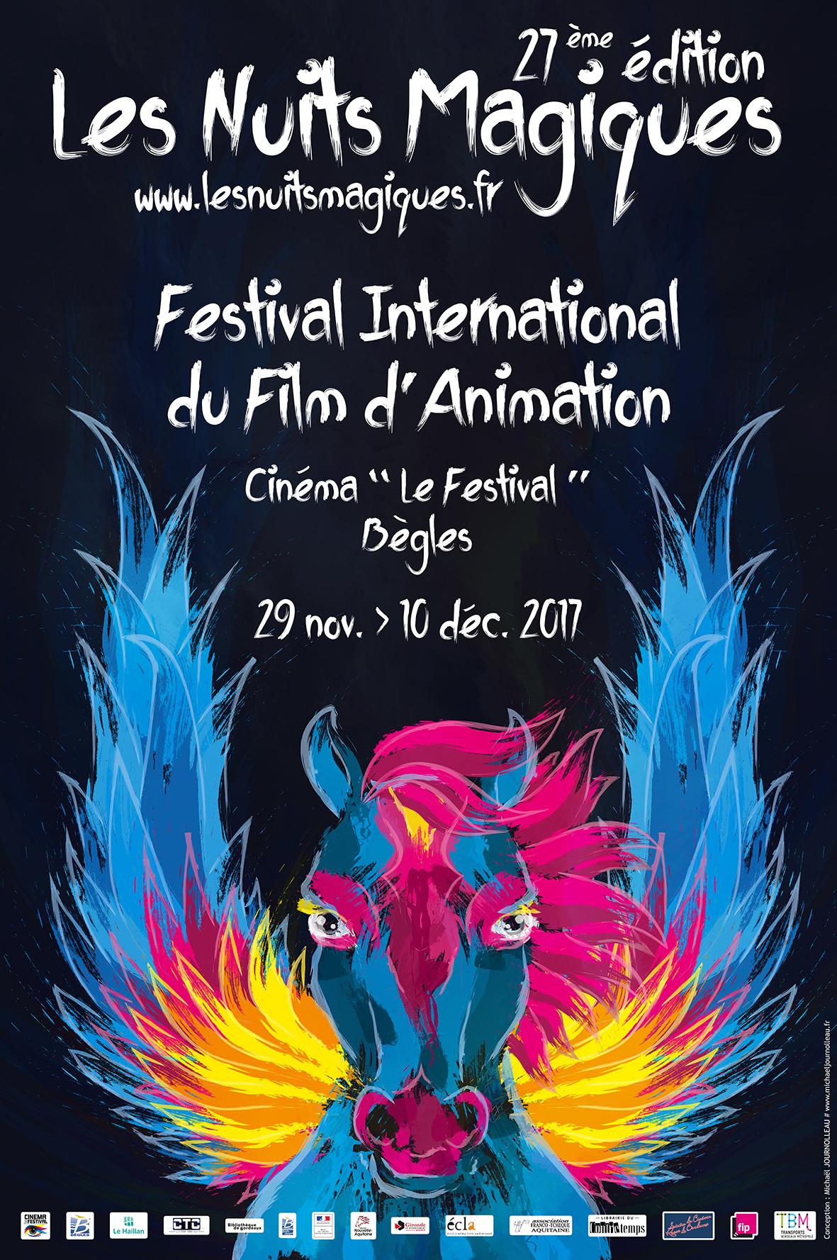 Les Nuits Magiques 2017 – Festival international du film d'animation