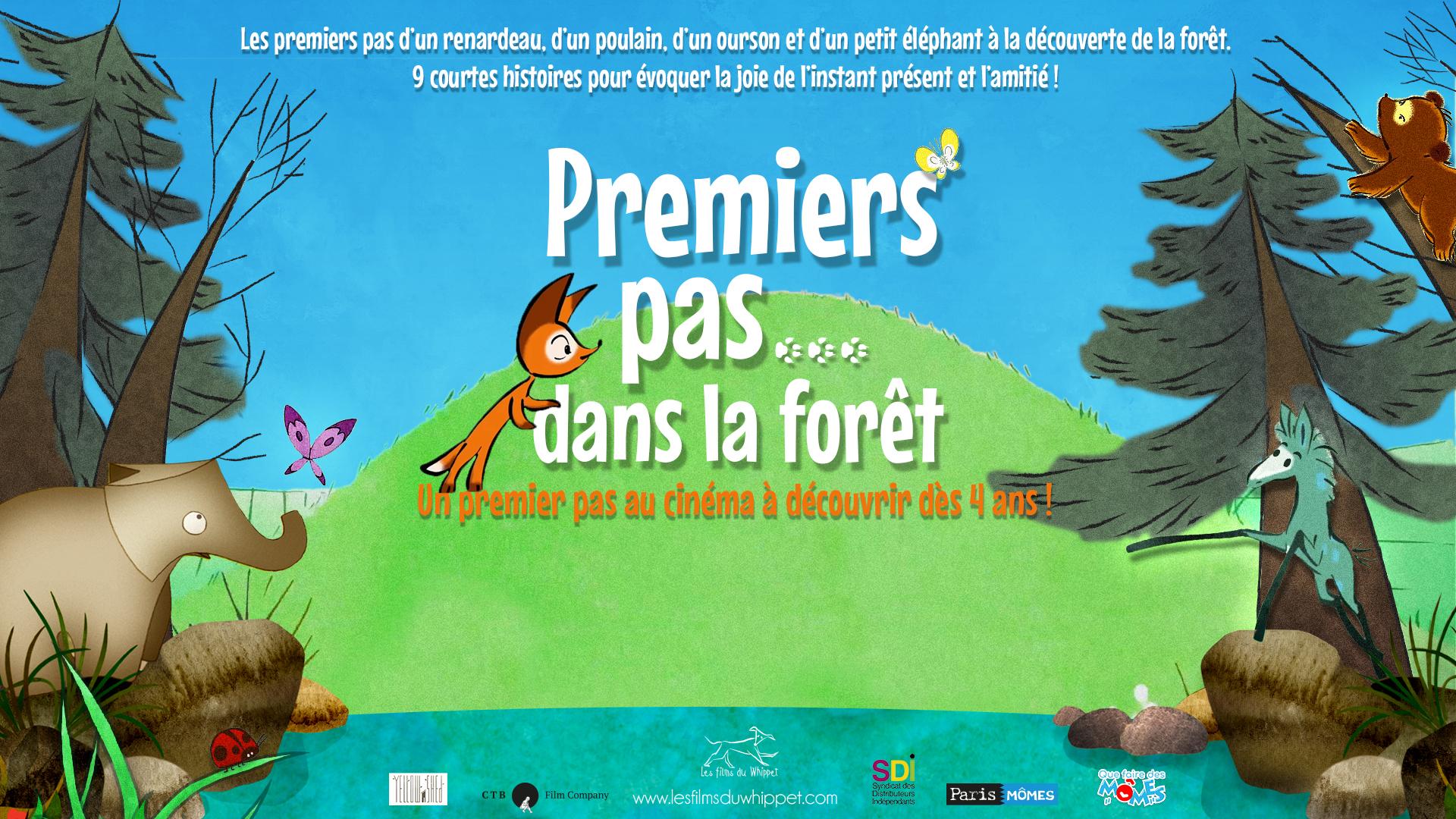 """Les Films du Whippet – """"Premiers pas… dans la forêt"""""""